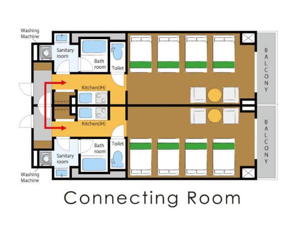 コネクティングルームの画像その2