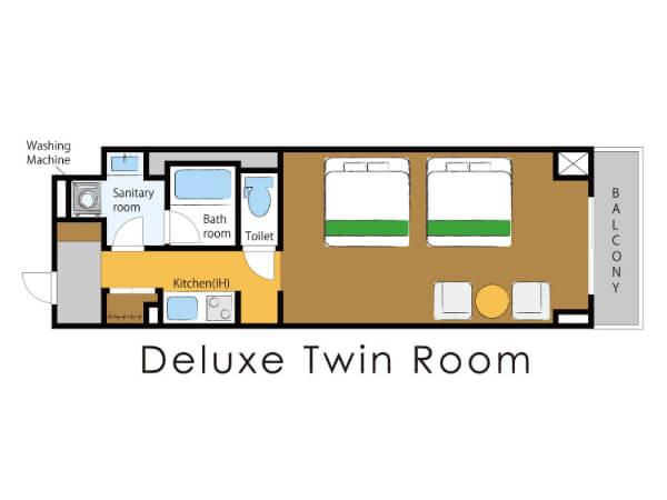 DXツインルームの画像その2