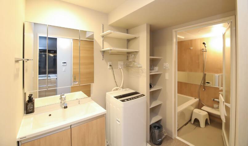 TAKUTOSTAY本町ウエスト「洗面所・脱衣所・浴室」